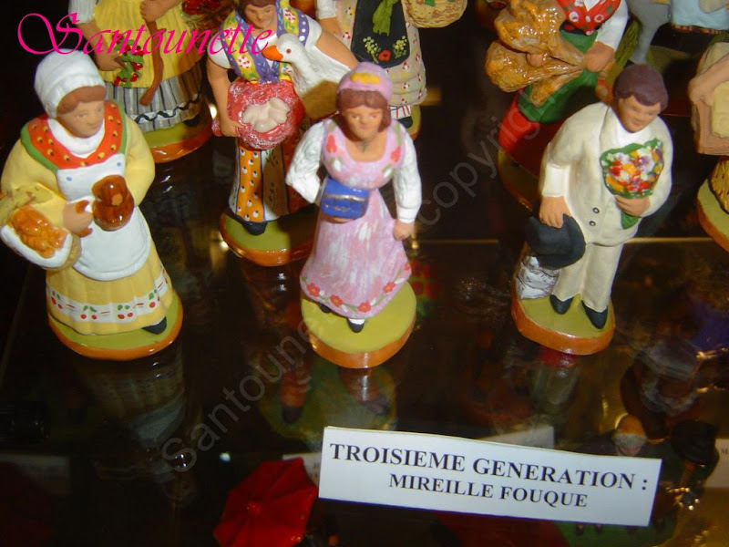 santons du musée de l'Aumérade