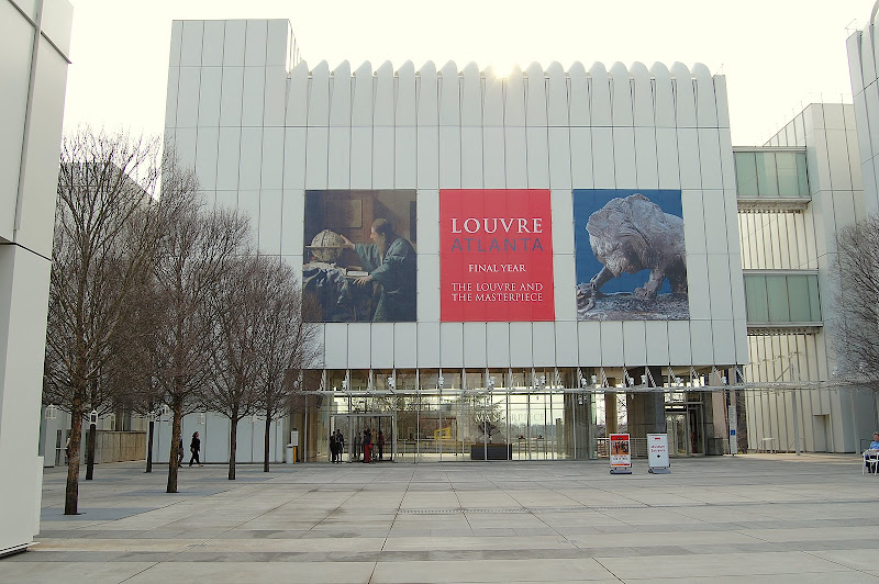 The Louvre was in town.