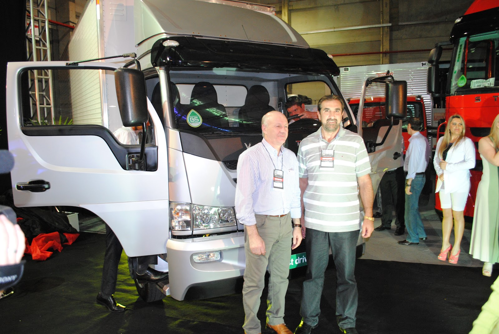 LOGISTIQUE - Feira gera visibilidade e alavanca negócios para a Carboni Iveco DSC 1312