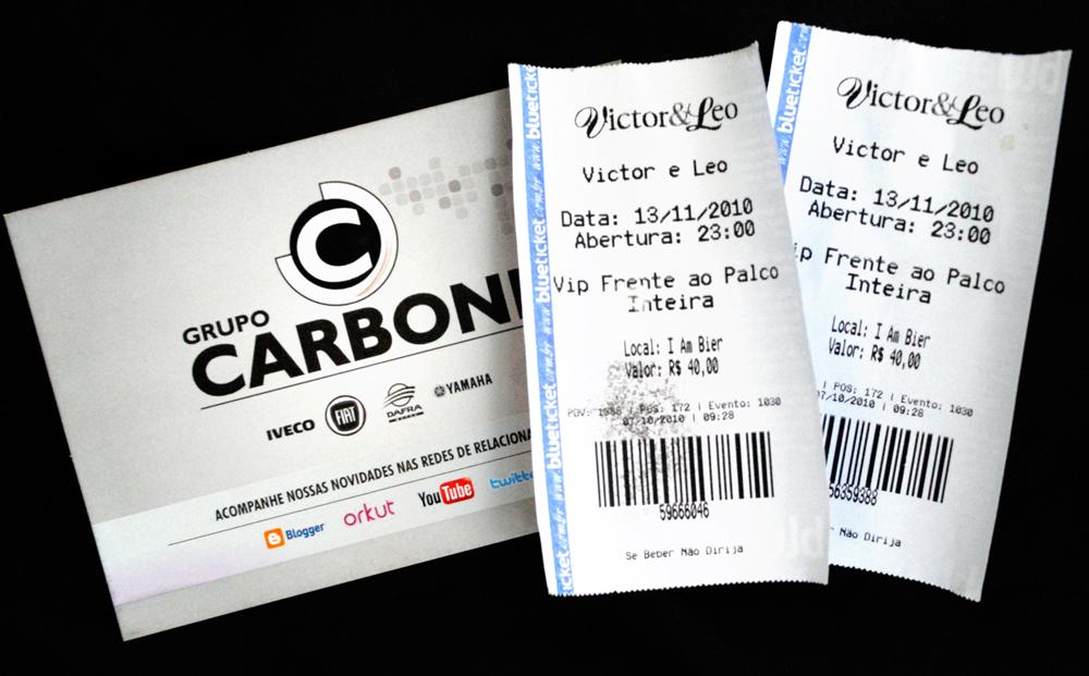 Ingressos para o show da dupla Victor e Léo na I am Bier Videira, ganhe no twitter DSC 1352