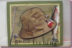 Connie's Gone fishin'