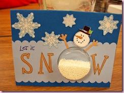 Janice's snowman