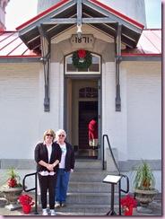 Misty & Kathy at entrance