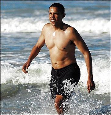 obama-surf