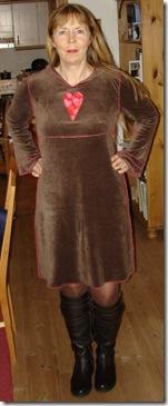 kjole_brun1