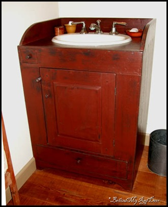 washstand oldcolonyprimitives