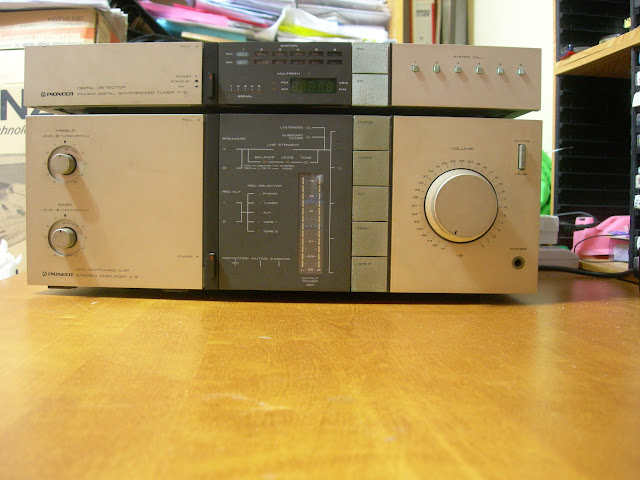 Used Pioneer A 9 Int Amp N F 9 Tuner Sold