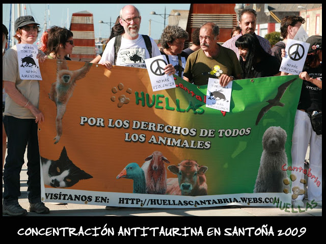 Concentración Antitaurina en Santoña-Vuelta a la normalidad 01