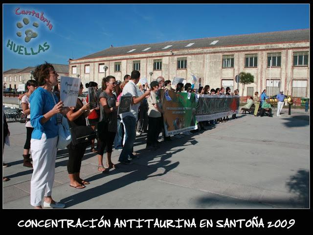 Concentración Antitaurina en Santoña-Vuelta a la normalidad 04