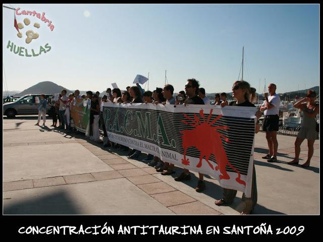 Concentración Antitaurina en Santoña-Vuelta a la normalidad 05