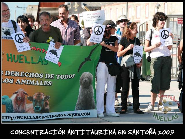 Concentración Antitaurina en Santoña-Vuelta a la normalidad 10