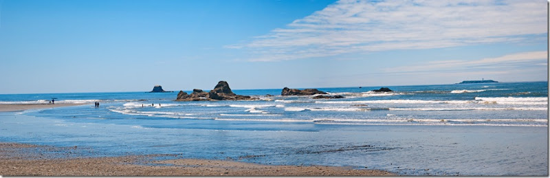 A Ruby Beach Panorama