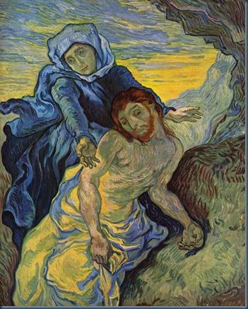 La pasión según Delacroix Versión de van Gogh