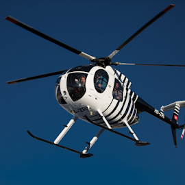 Frozen helicopter with 400mm lens by Frank Tschöpe - Transportation Helicopters