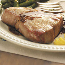 Balsamic-Glazed Tuna Steaks Recipe