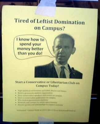 ¿Cansado de la dominación izquierdista del campus? Funda tu propio club republicano.