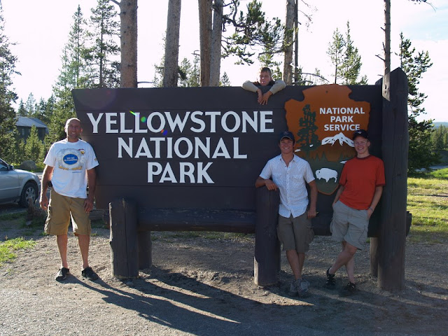 Welcome to Yellowstone National Park!