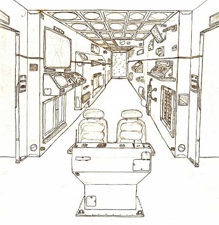 Spaceship interior