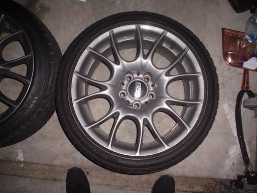 18x8.5 BBS CK ET 33. BMW style