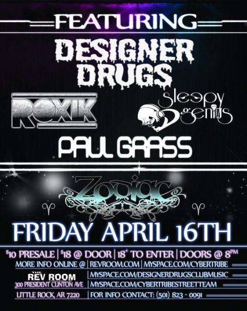 Designer Drugs in Little Rock