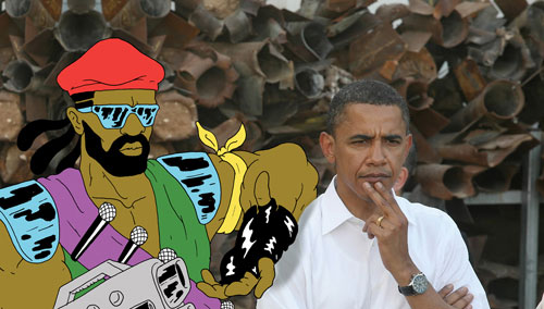 Barack Obama & Major Lazer