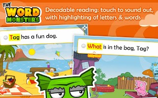 Screenshot of Word Monsters: Learn to Read