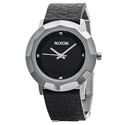 Nixon Bobbie Watch - Leather Band (For Women)