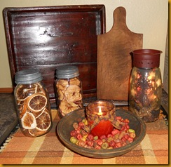 Candle and Spool displays 002