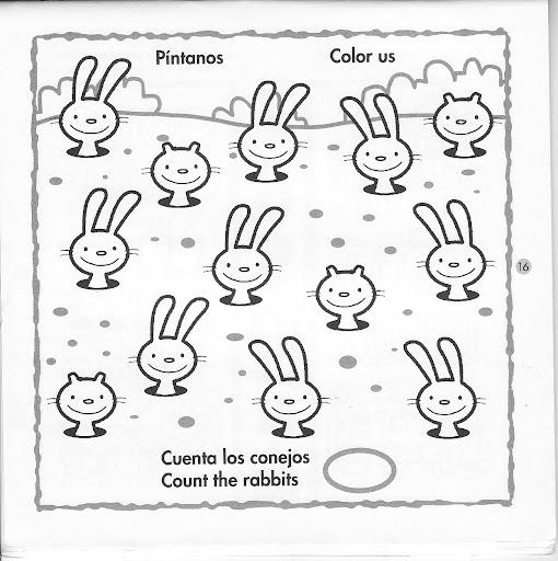 Numeros en inglés DEL 1 AL 20 para colorear - Imagui