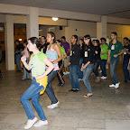 Momentos de descontração no SulPet 2009: aula de salsa