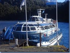 Barco que navegamos pelo lago Nahuel Huapi, dando início ao passeio dos Lagos Andinos