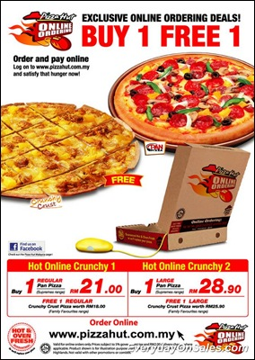 Pizza-Hut-Malaysia-2011-promo-big-online-ordering-EverydayOnSales-Warehouse-Sale-Promotion-Deal-Discount