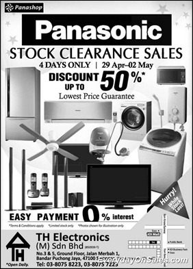 Panasonic-Stock-Clearance-Sales-2011-EverydayOnSales-Warehouse-Sale-Promotion-Deal-Discount