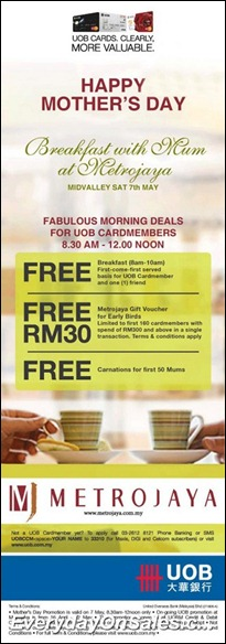 UOB-Breakfast-with-Mum-at-Metrojaya-2011-EverydayOnSales-Warehouse-Sale-Promotion-Deal-Discount