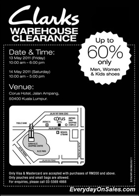 Clarks-Warehouse-Sale-2011-EverydayOnSales-Warehouse-Sale-Promotion-Deal-Discount