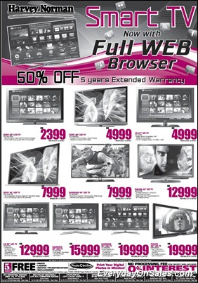 Harvey-Norman-Smart-TV-2011-EverydayOnSales-Warehouse-Sale-Promotion-Deal-Discount