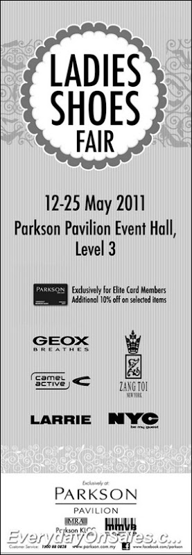 Parkson-Ladies-Shoes-Fair-2011-EverydayOnSales-Warehouse-Sale-Promotion-Deal-Discount