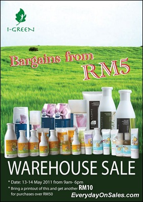 i-Green-Warehouse-Sale-2011-EverydayOnSales-Warehouse-Sale-Promotion-Deal-Discount