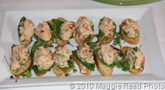 MSSR crab appetizer