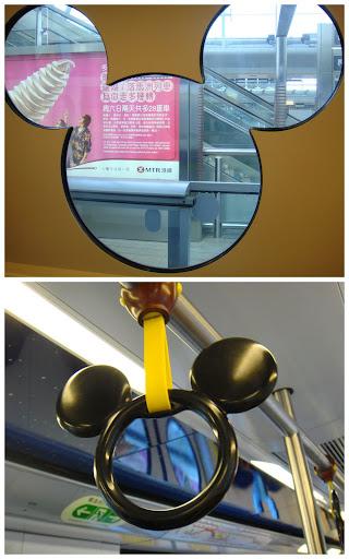train to Disney land! haha