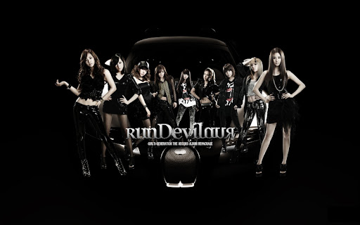 For more Girls' Categories: Images Tags: run devil run, snsd, Wallpaper