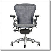 Aeron ® Basic Chair With Polished Aluminum Base