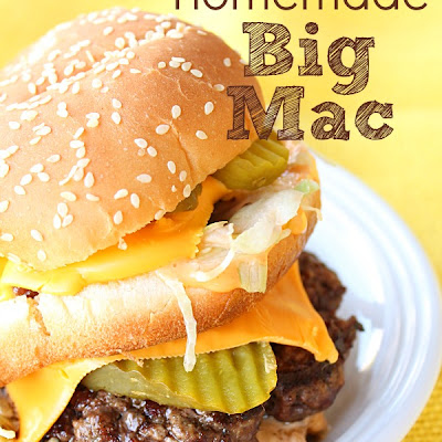 Homemade Copycat Big Mac