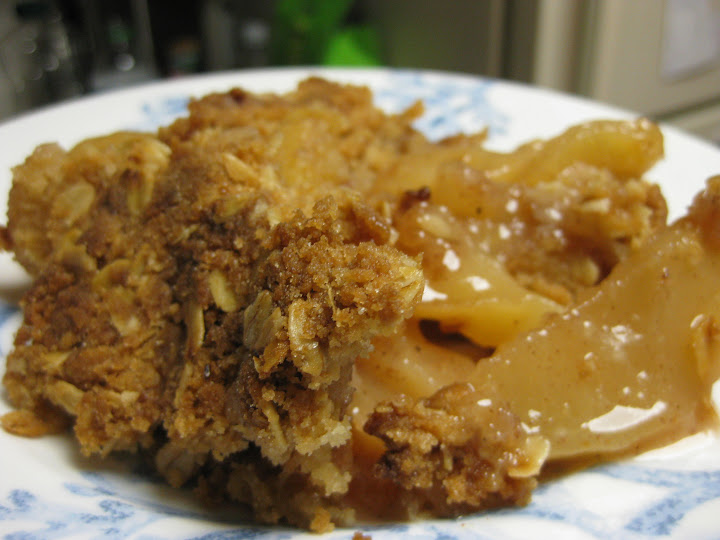 Apple crisp, mmmm