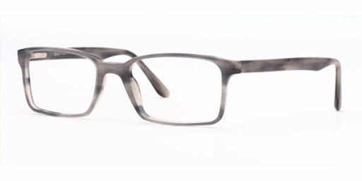 Óculos RX5037 Ray Ban Cinza Mesclado
