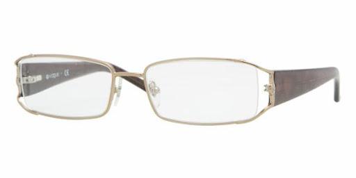 Óculos VO3741 Vogue Dourado