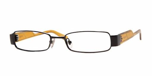 Óculos VO3618 Vogue Preto com Amarelo