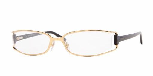 Óculos VO3614 Vogue Preto com Dourado