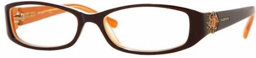 Óculos VO2535B Vogue Vermelho com Laranja