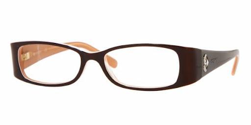 Óculos VO2536B Vogue Preto e Laranja